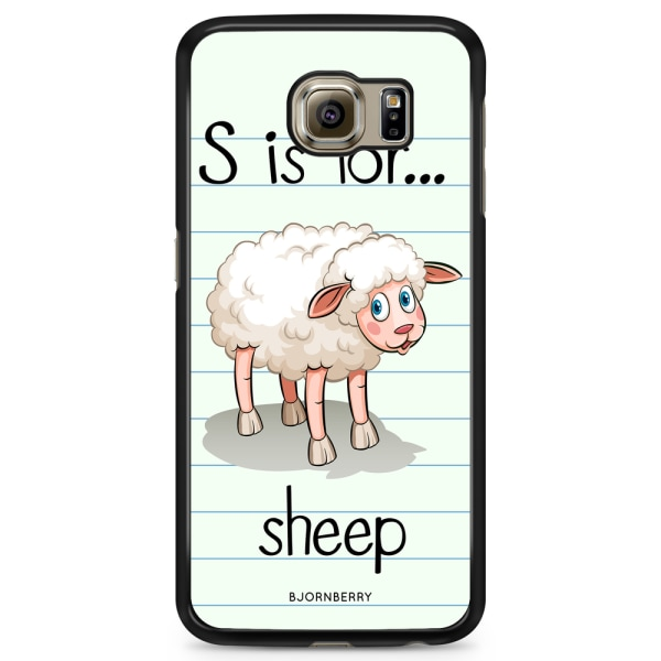 Bjornberry Skal Samsung Galaxy S6 Edge+ - S is for Sheep
