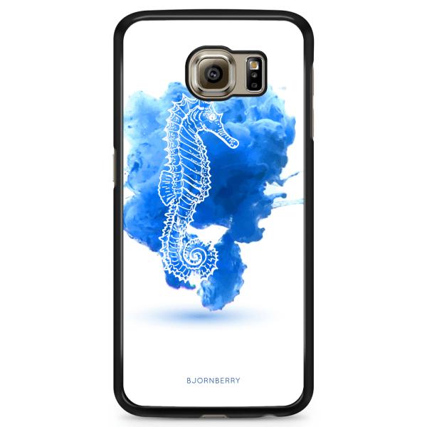 Bjornberry Skal Samsung Galaxy S6 Edge - Sjöhäst Blå