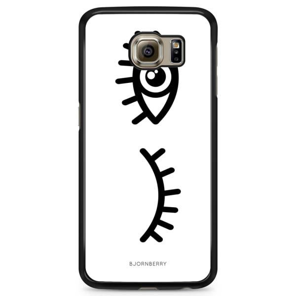 Bjornberry Skal Samsung Galaxy S6 Edge+ - Svarta Ögon