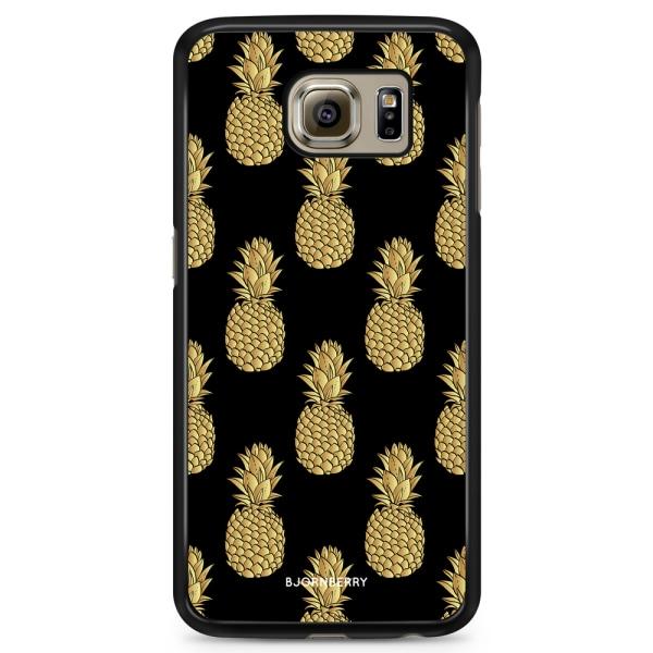 Bjornberry Skal Samsung Galaxy S6 - Guldiga Ananas