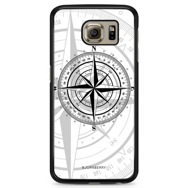 Bjornberry Skal Samsung Galaxy S6 - Kompass Vit