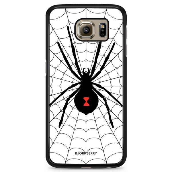 Bjornberry Skal Samsung Galaxy S6 - Svarta Änkan