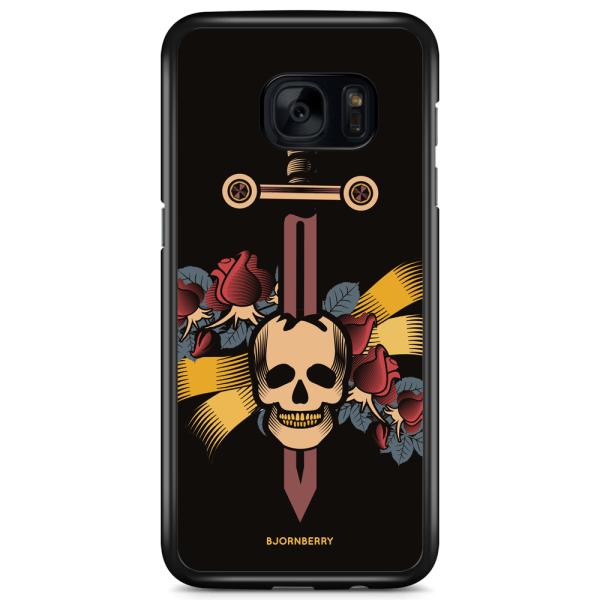 Bjornberry Skal Samsung Galaxy S7 Edge - Dödskalle