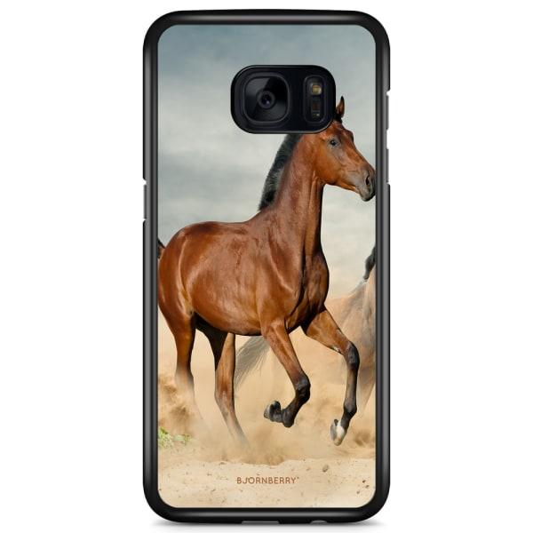 Bjornberry Skal Samsung Galaxy S7 Edge - Häst Stegrar