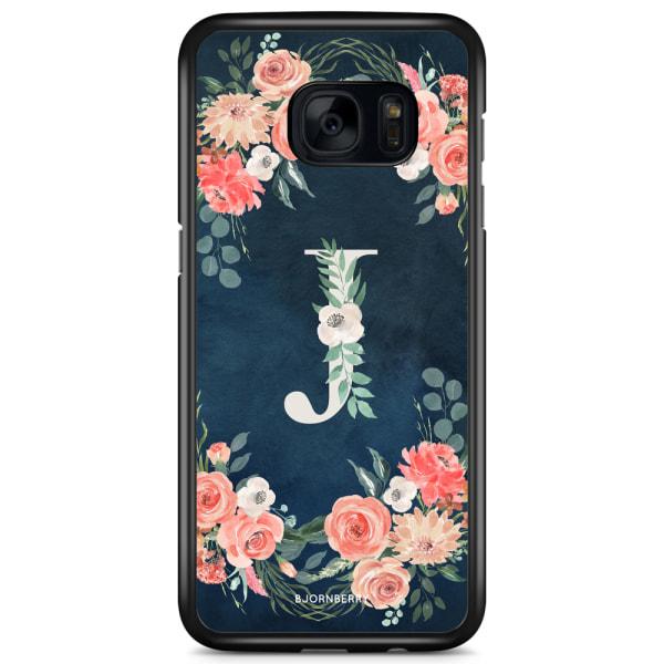 Bjornberry Skal Samsung Galaxy S7 Edge - Monogram J