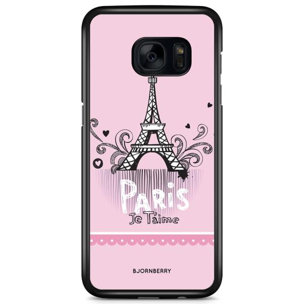 Bjornberry Skal Samsung Galaxy S7 Edge - Paris je taime