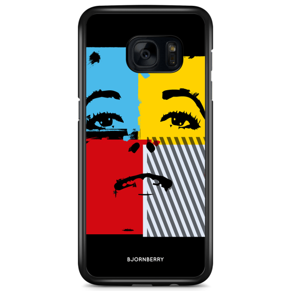 Bjornberry Skal Samsung Galaxy S7 Edge - Pop-konst