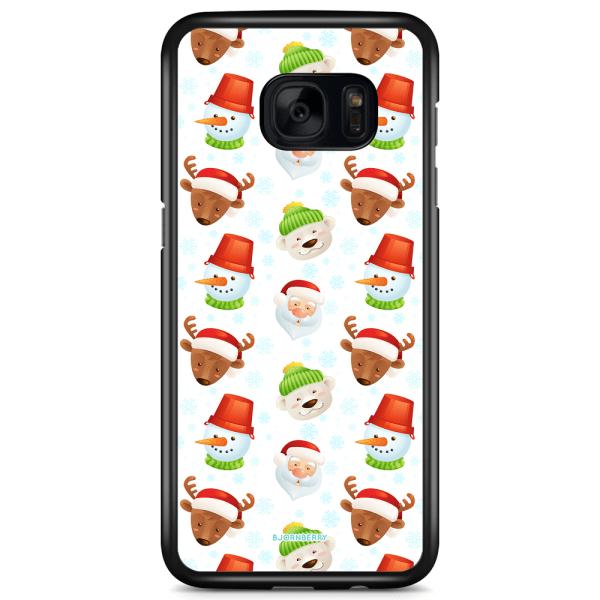 Bjornberry Skal Samsung Galaxy S7 Edge - Tomtemönster