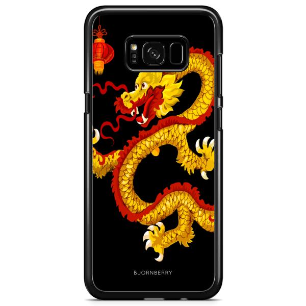 Bjornberry Skal Samsung Galaxy S8 - Gul Drake