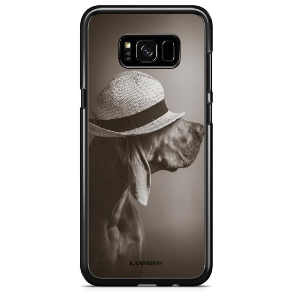Bjornberry Skal Samsung Galaxy S8 - Hund med Hatt