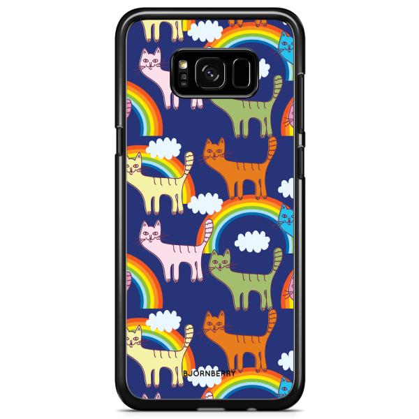 Bjornberry Skal Samsung Galaxy S8 - Katter & Regnbågar