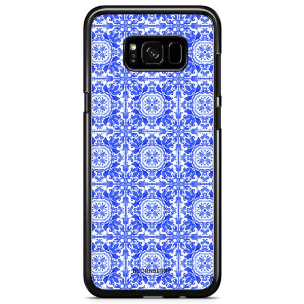 Bjornberry Skal Samsung Galaxy S8 Plus - Blått Kakel