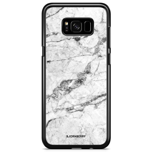 Bjornberry Skal Samsung Galaxy S8 - Vit Marmor
