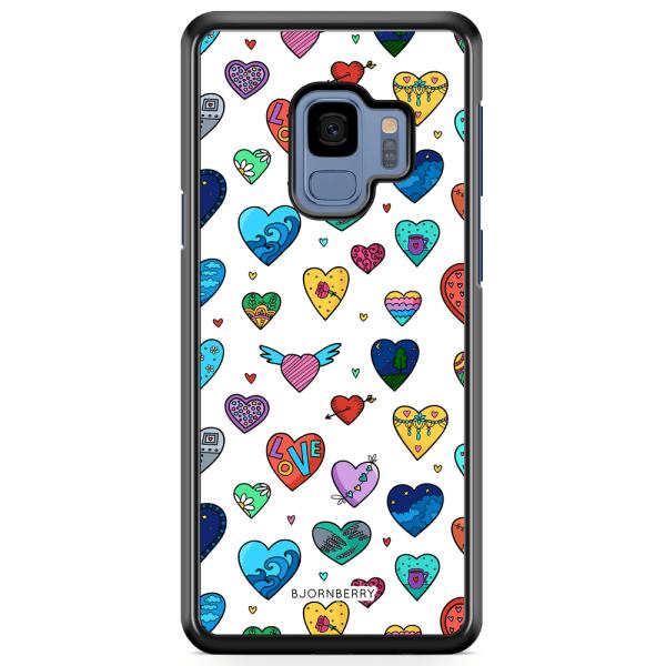 Bjornberry Skal Samsung Galaxy S9 - Hjärtan