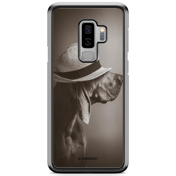 Bjornberry Skal Samsung Galaxy S9 Plus - Hund med Hatt
