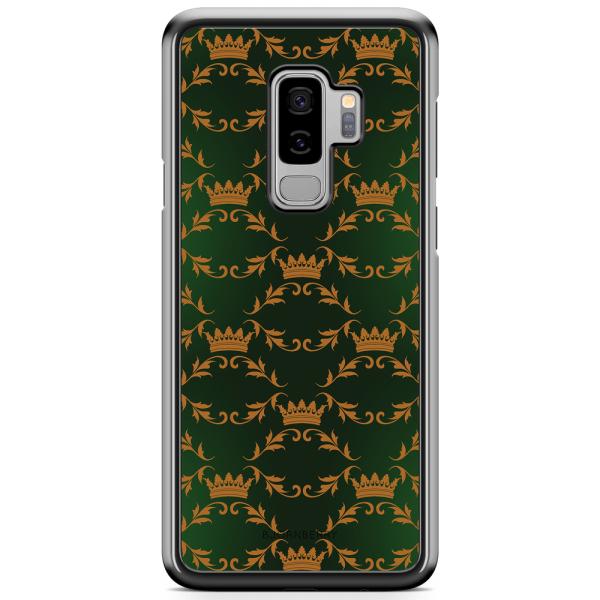 Bjornberry Skal Samsung Galaxy S9 Plus - Kronmönster