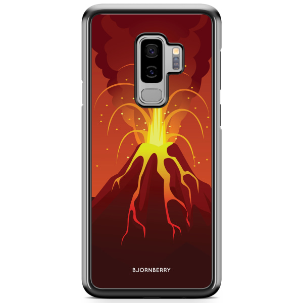Bjornberry Skal Samsung Galaxy S9 Plus - Teknad Vulkan