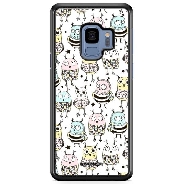 Bjornberry Skal Samsung Galaxy S9 - Söta Ugglor