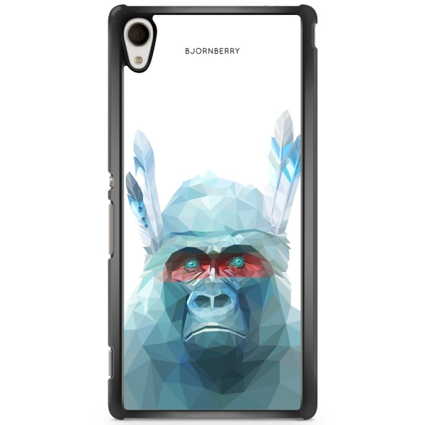 Bjornberry Skal Sony Xperia M4 Aqua - Färgglad Gorilla