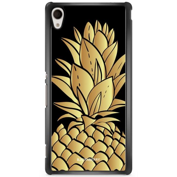Bjornberry Skal Sony Xperia M4 Aqua - Guldig Ananas