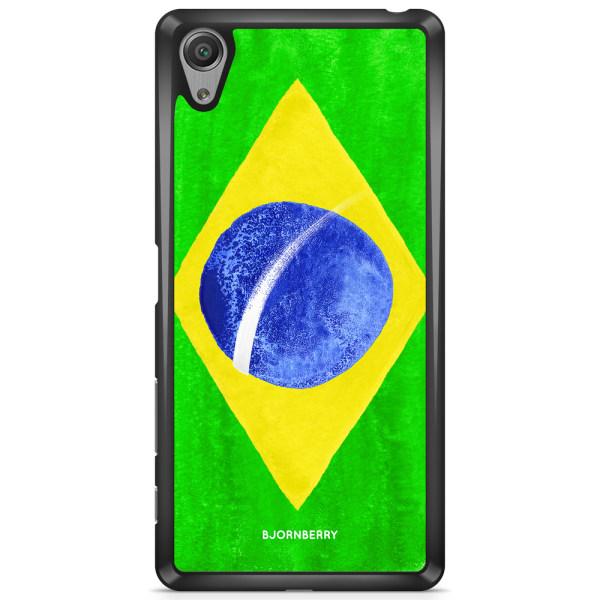 Bjornberry Skal Sony Xperia XA - Brasiliens Flagga