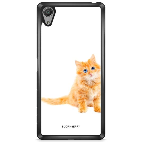 Bjornberry Skal Sony Xperia XA - Liten Brun Katt