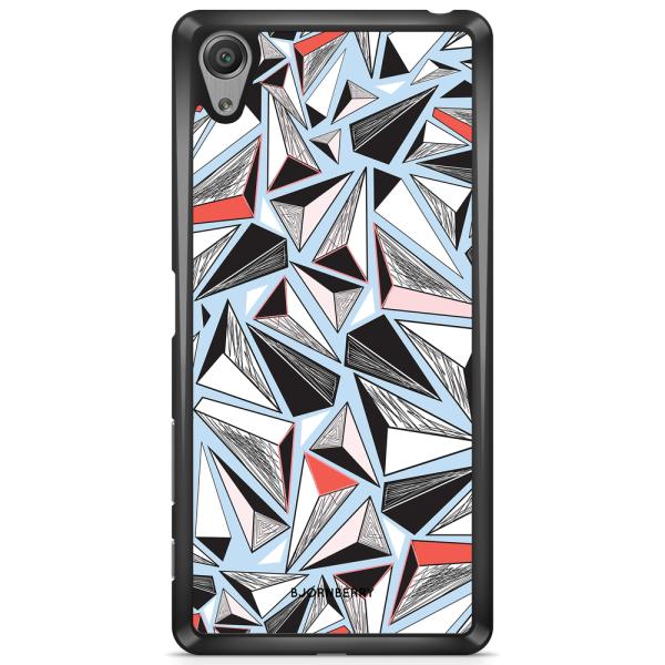 Bjornberry Skal Sony Xperia XA - Triangelmönster