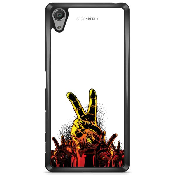 Bjornberry Skal Sony Xperia XA1 - Peace Händer