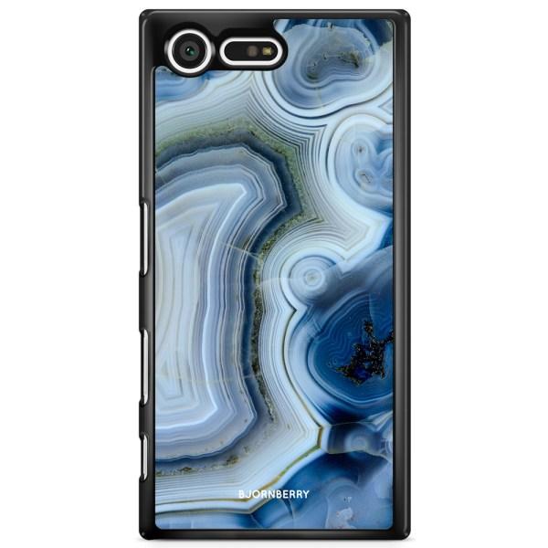 Bjornberry Skal Sony Xperia XZ Premium - Blå Sten
