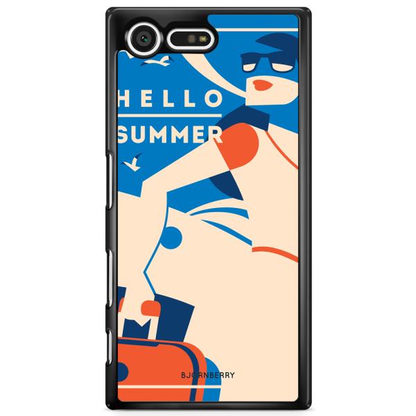 Bjornberry Skal Sony Xperia XZ Premium - Hello Summer