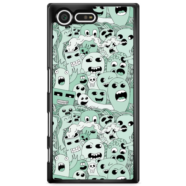 Bjornberry Skal Sony Xperia XZ Premium - Spökmönster