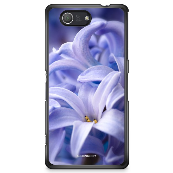 Bjornberry Skal Sony Xperia Z3 Compact - Blå blomma