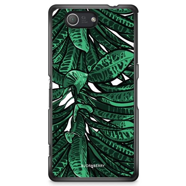 Bjornberry Skal Sony Xperia Z3 Compact - Tropiska Löv