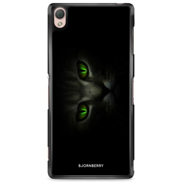 Bjornberry Skal Sony Xperia Z3 - Gröna Kattögon