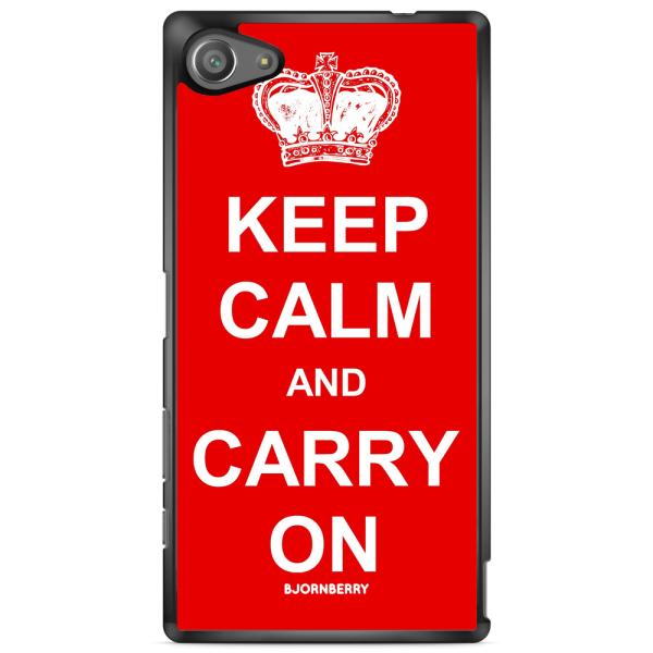 Bjornberry Skal Sony Xperia Z5 Compact - Keep calm carry on