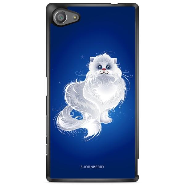 Bjornberry Skal Sony Xperia Z5 Compact - Vit Katt