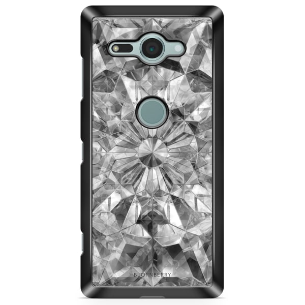 Bjornberry Sony Xperia XZ2 Compact Skal - Grå Kristaller