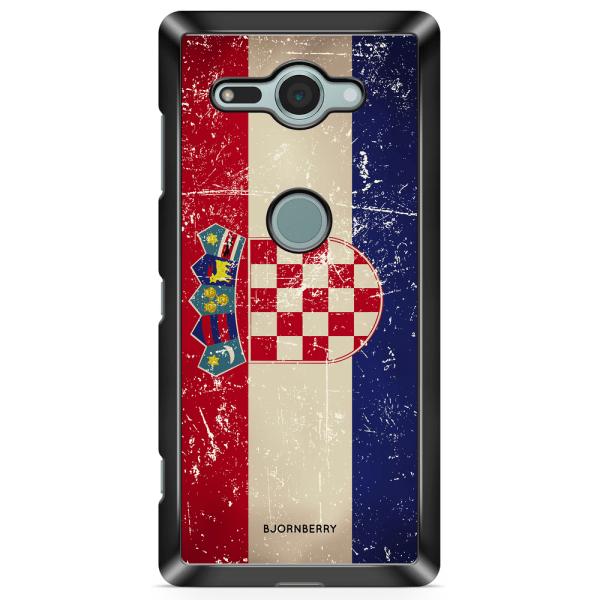 Bjornberry Sony Xperia XZ2 Compact Skal - Kroatien