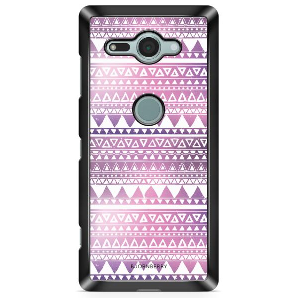 Bjornberry Sony Xperia XZ2 Compact Skal - Lila Aztec