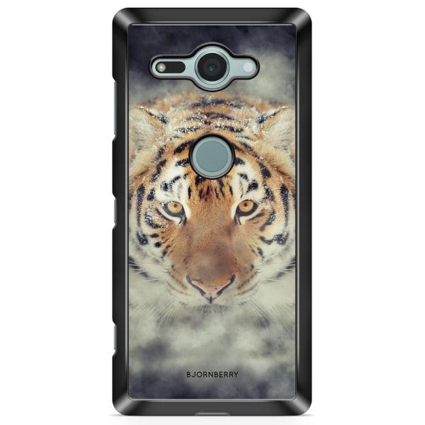 Bjornberry Sony Xperia XZ2 Compact Skal - Tiger Rök