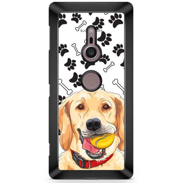 Bjornberry Sony Xperia XZ2 Skal - Golden Retriever