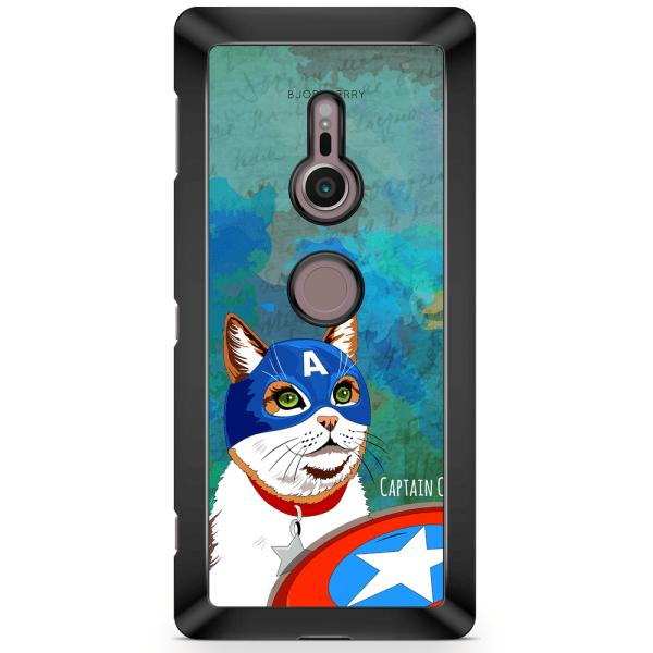 Bjornberry Sony Xperia XZ2 Skal - Kapten Katt