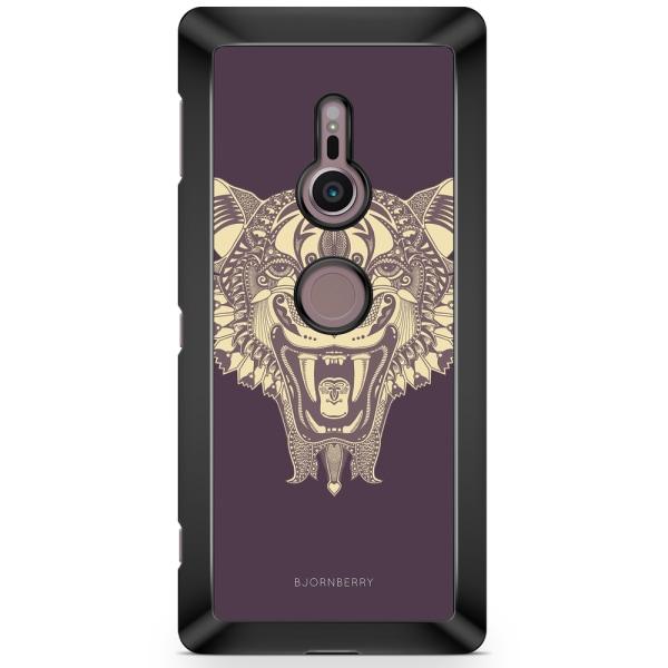 Bjornberry Sony Xperia XZ2 Skal - Mandala Panter