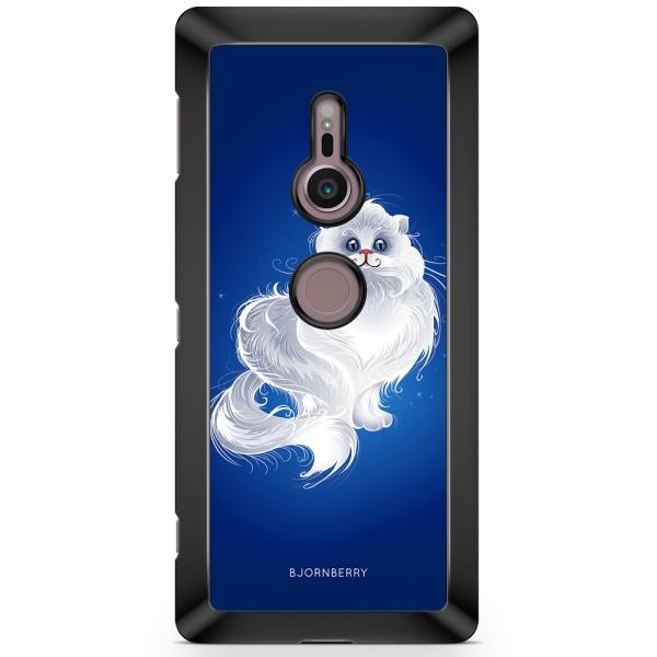 Bjornberry Sony Xperia XZ2 Skal - Vit Katt