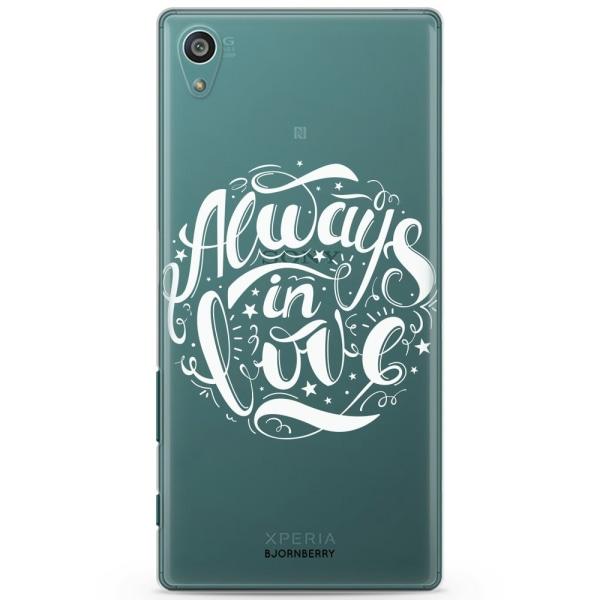 Bjornberry Sony Xperia Z5 Compact TPU Skal -Always In Love