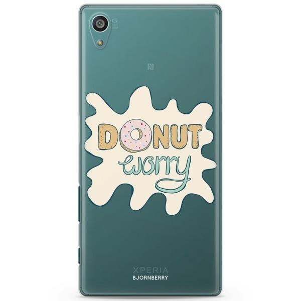 Bjornberry Sony Xperia Z5 Compact TPU Skal -Donut Worry