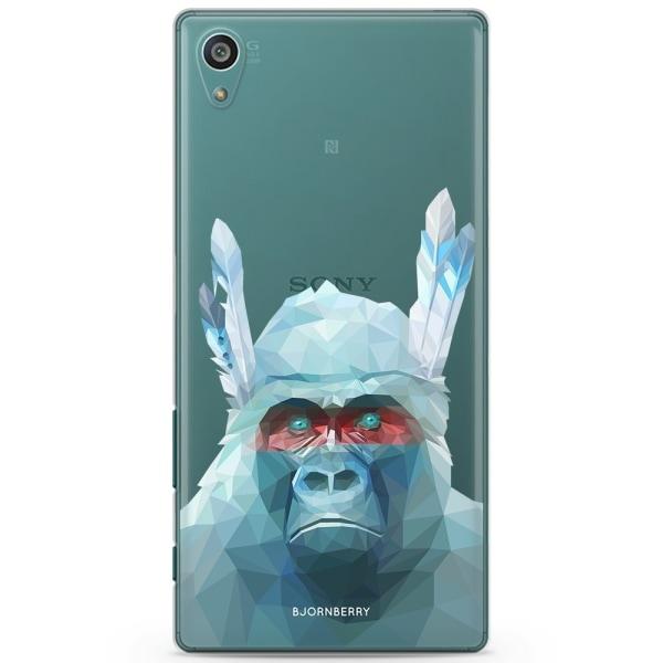 Bjornberry Sony Xperia Z5 Compact TPU Skal -Färgglad Gorilla