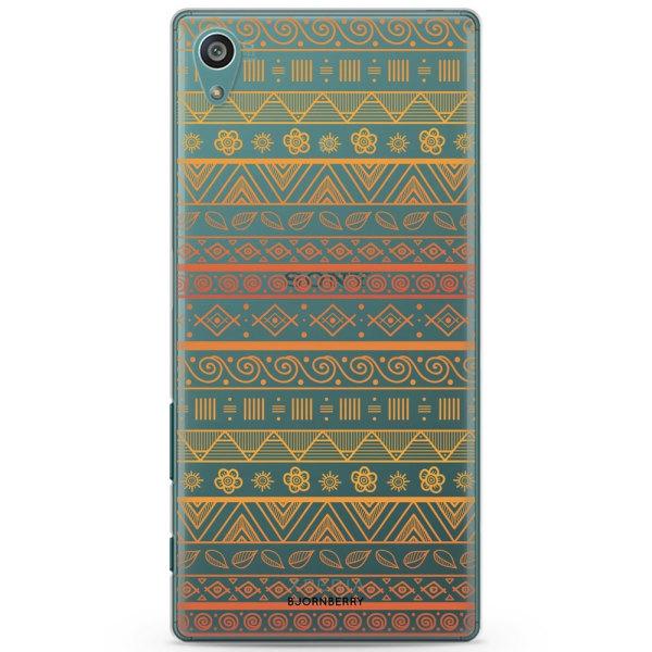 Bjornberry Sony Xperia Z5 Compact TPU Skal -Tribalmönster