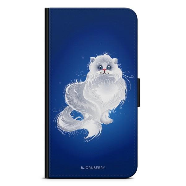 Bjornberry Xiaomi Mi A1 Fodral - Vit Katt