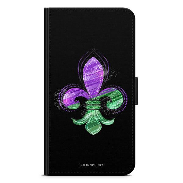 Bjornberry Xiaomi Mi Note 10 Lite Fodral - Heraldisk Lilja